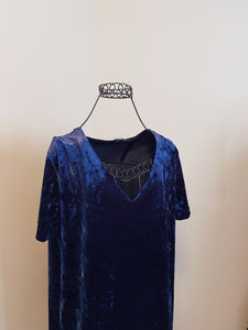 Workhall Crushed Velvet Dress (L)