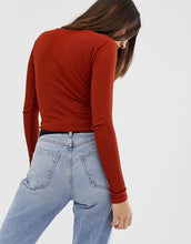 Load image into Gallery viewer, Asos Twist Front Crop Top