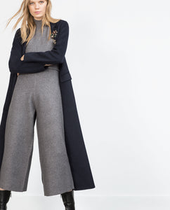 Zara Knit Turtleneck Jumpsuit