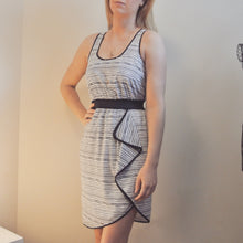Load image into Gallery viewer, Armani Exchange Dress With Ruffle
