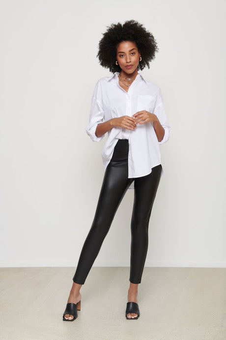 Dynamite Faux Leather Legging (S)