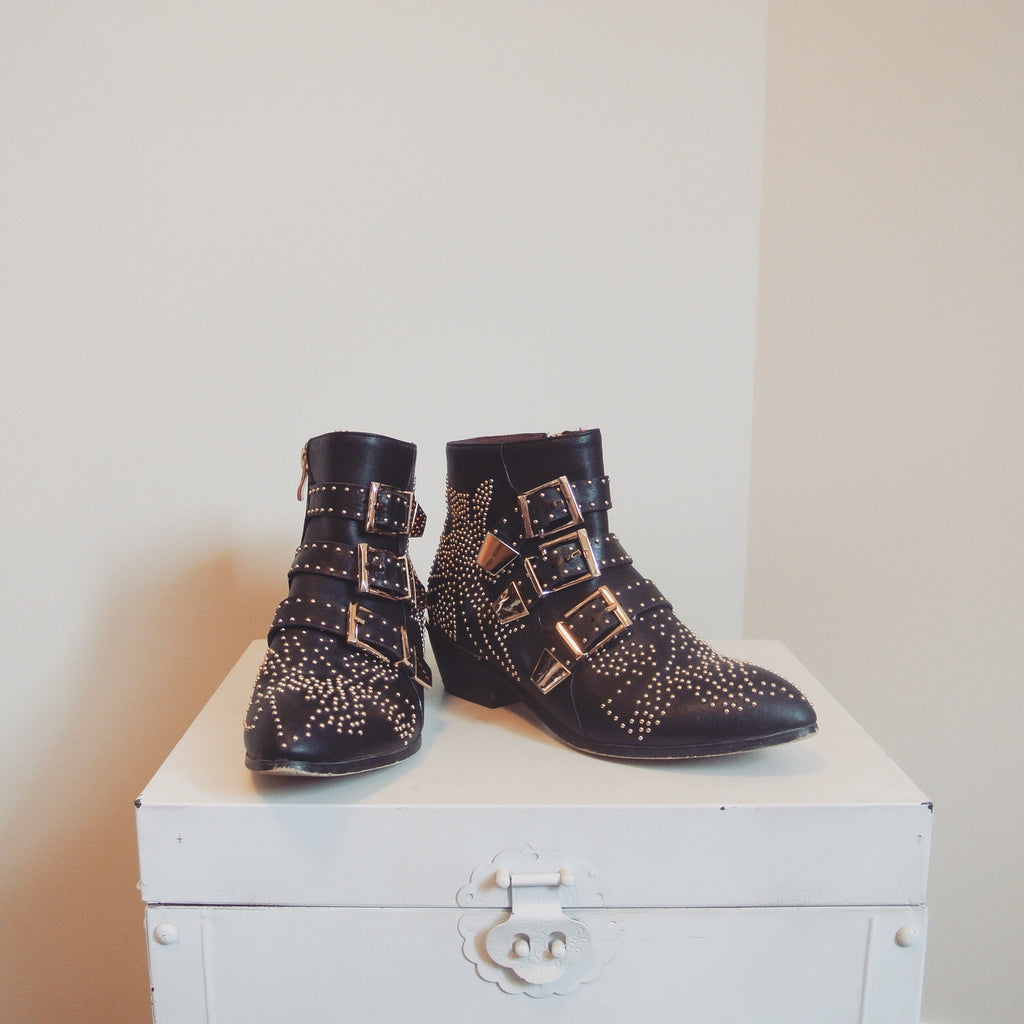 Replica Chloe Studded Boots