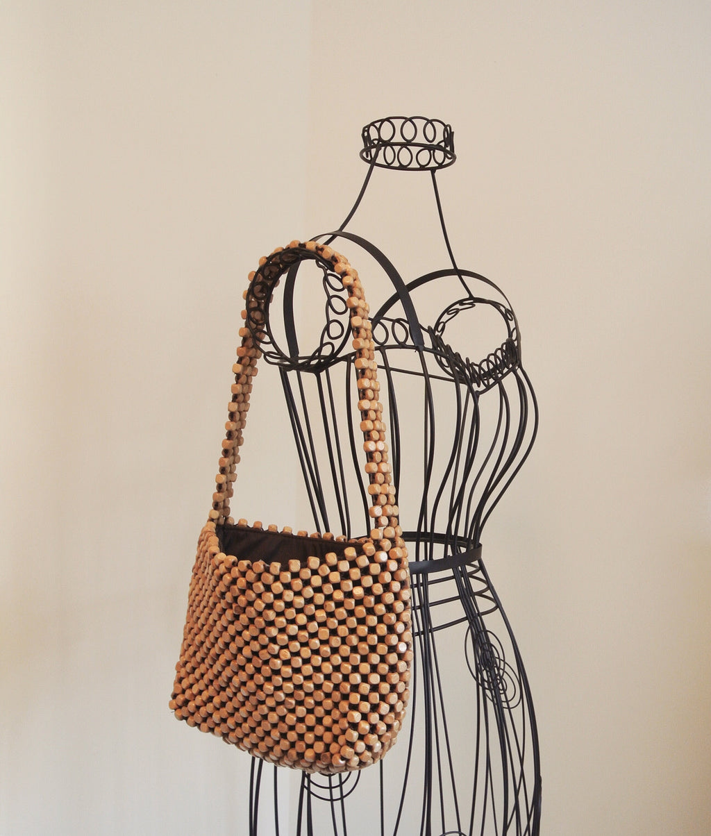 The Sak Wooden Beaded Vintage Bag
