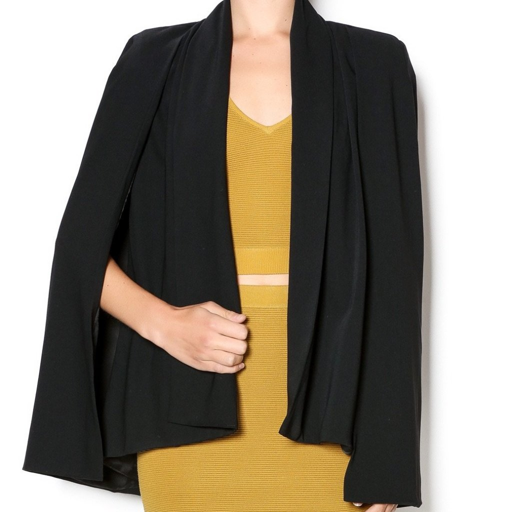 Gentle Fawn Black Cape