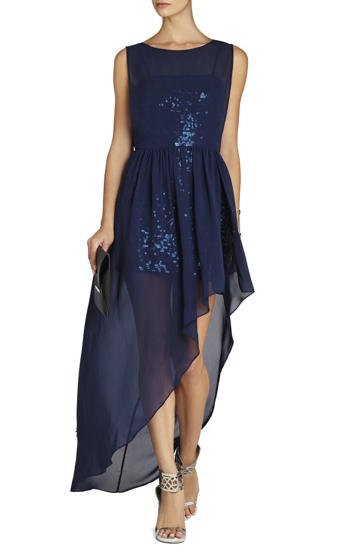 BCBGMaxazria Katrine Sequin Dress