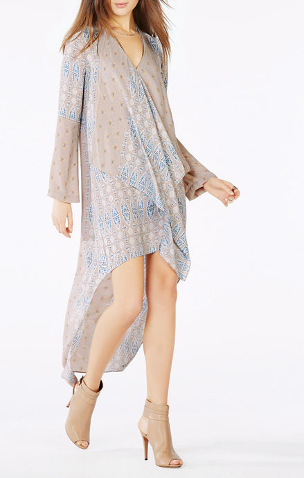 BCBGMaxazria Kyndal Tapestry Dress