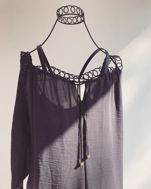 Buffalo Cold Shoulder Blouse