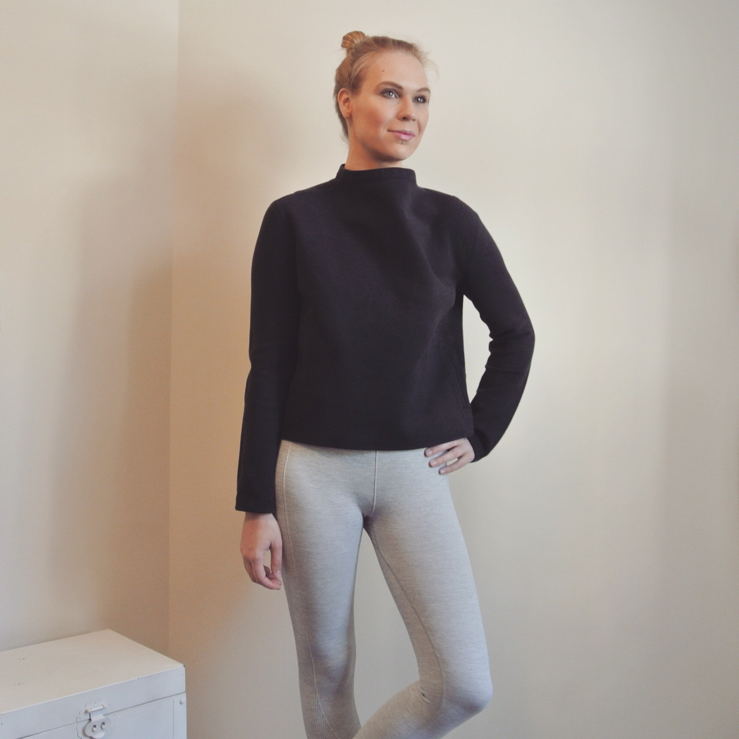 Lululemon Mock Turtleneck Sweater
