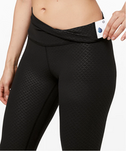 Load image into Gallery viewer, lululemon Align Pant II Monochromic Black Emboss