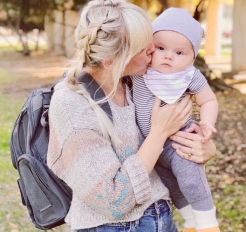 The Hands-Free/Worry-Free Diaper Backpack - Kiko Diaper Bags