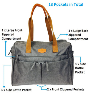 The Everything Diaper Tote - Kiko Diaper Bags