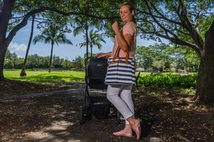 The Ooh-La-La Diaper Tote - Kiko Diaper Bags