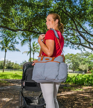 The Nantucket Diaper Tote - Kiko Diaper Bags