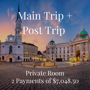 2021 Fine Art Trip - Single Main and Post Trip - Per Person
