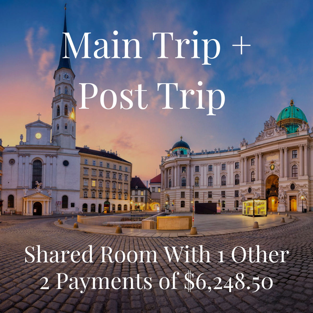 2021 Fine Art Trip - Shared Main and Post Trip - Per Person