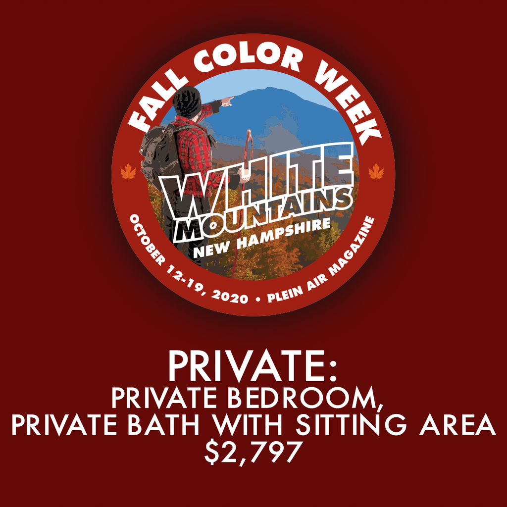 2020 Fall Color Week - Private: Private Bedroom with Private Bath - FCW19 Discount