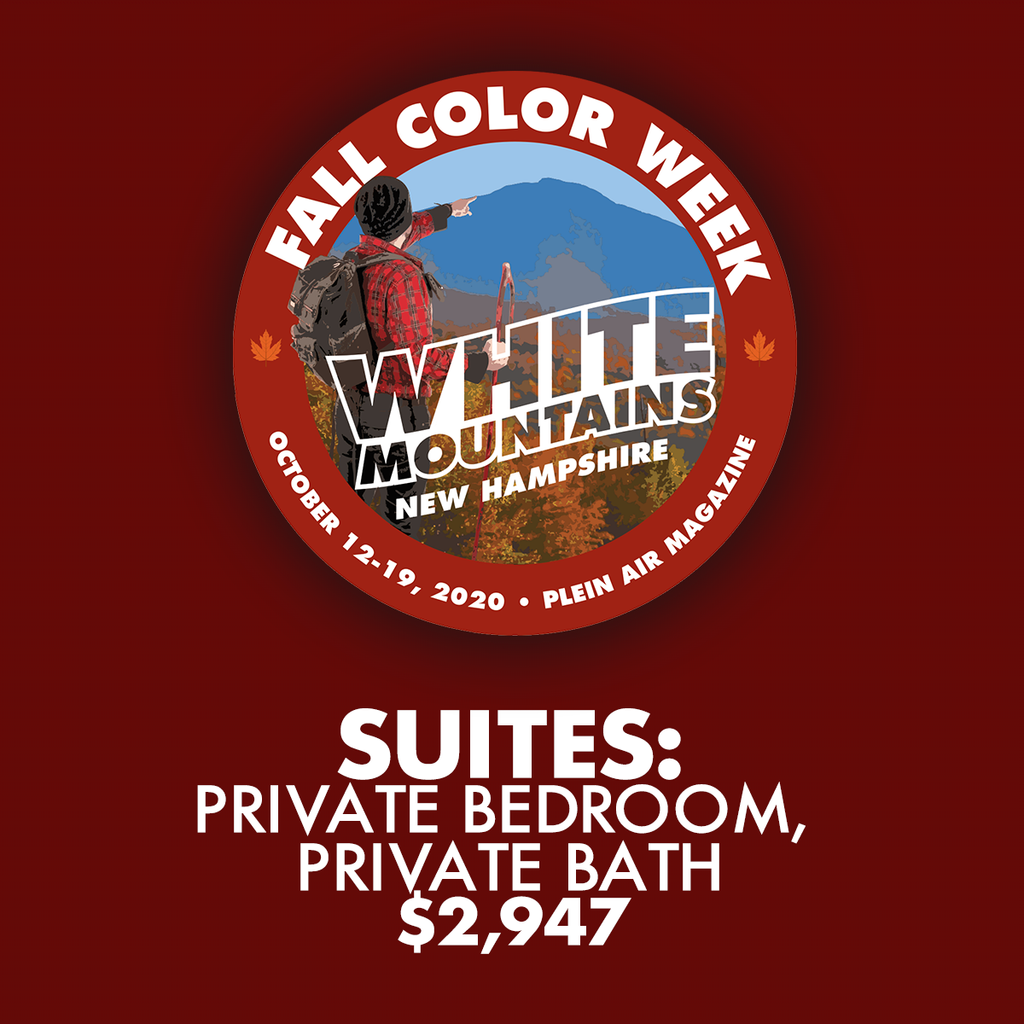 2020 Fall Color Week - Suites: Private Bedroom, Private Bath with Sitting Area