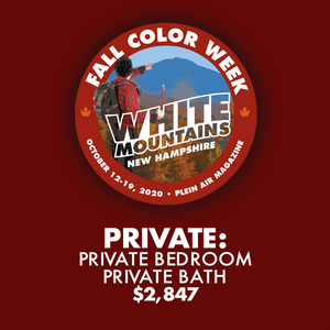 2020 Fall Color Week - Private: Private Bedroom with Private Bath