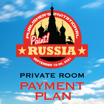 2021 Publisher's Invitational: Paint Russia ** 8 Payment Plan ** - Private Room