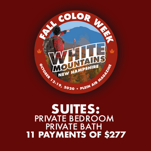 2020 Fall Color Week - Suites: Private Bedroom, Private Bath with Sitting Area *** 11 PAYMENT PLAN ***