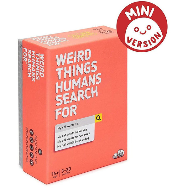 Mini Weird Things Humans Search For