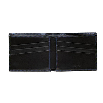Open wide Güs Alligator Billfold Wallet for men