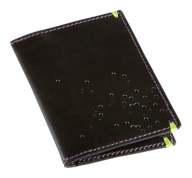 The Men's Vert Wallet in black