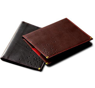The Passport Folio With Black and Brown Colors