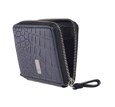 "Güs Alligator ""Piccolo Zip"" Case Front view for men and women"