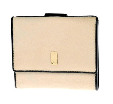 Gus Kimberly women's wallet in Latte Pony Hair - Front View