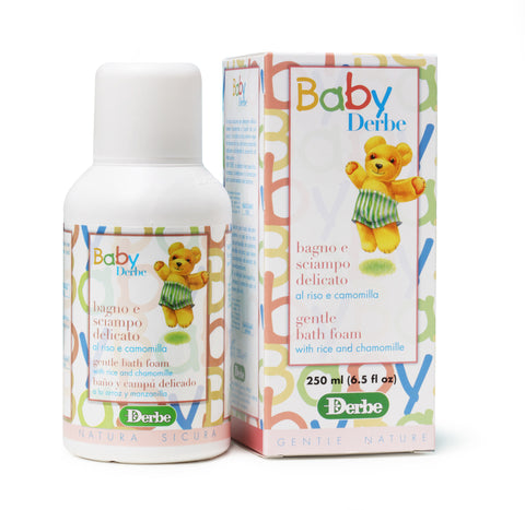 BABY GENTLE BATH FOAM AND SHAMPOO 250ml