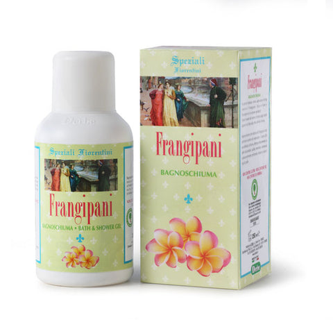 BATH & SHOWER GEL FRANGIPANI 250ml