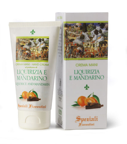 HAND CREAM LIQUORICE & MANDARIN 75ml