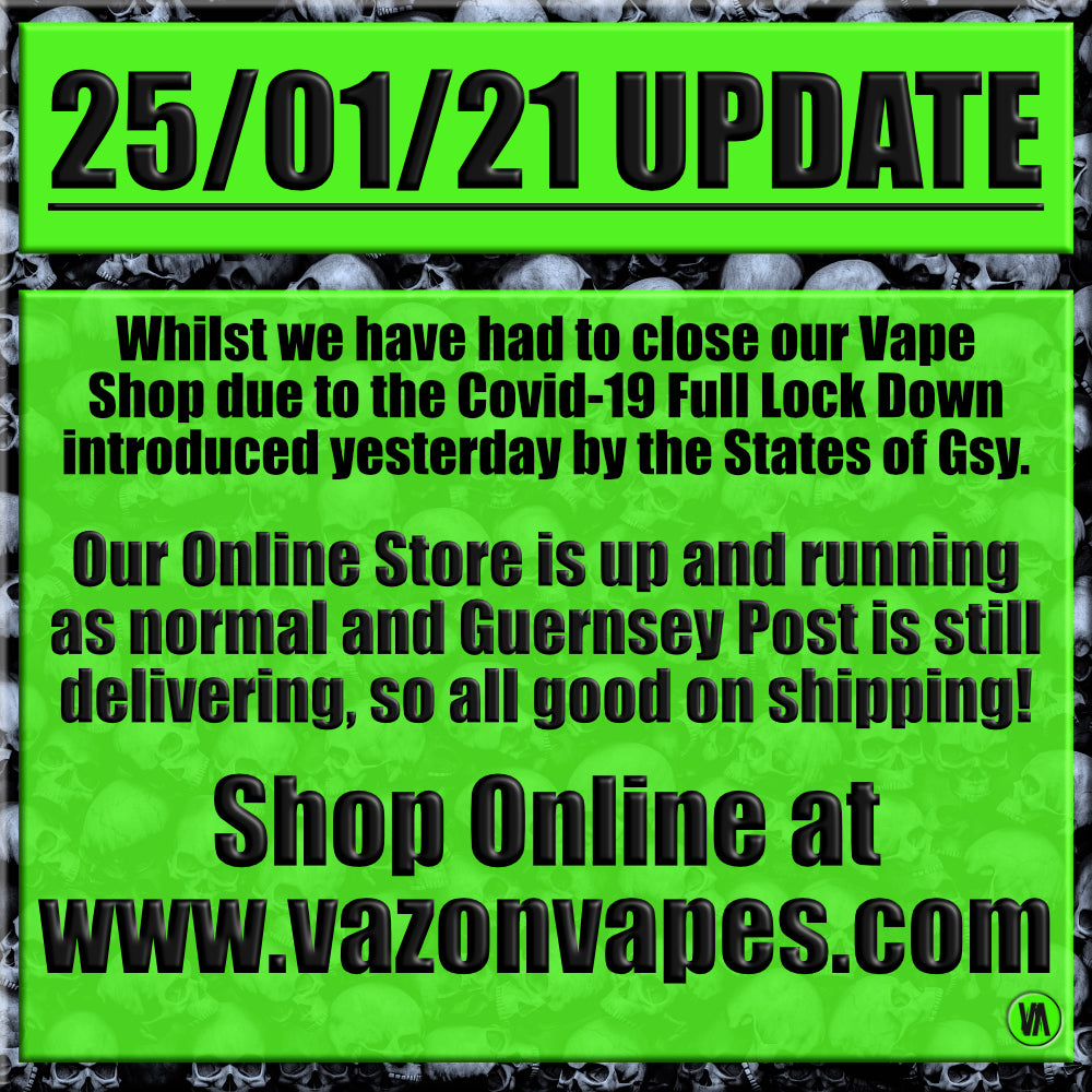 25/01/21 UPDATE - SHOP ONLINE