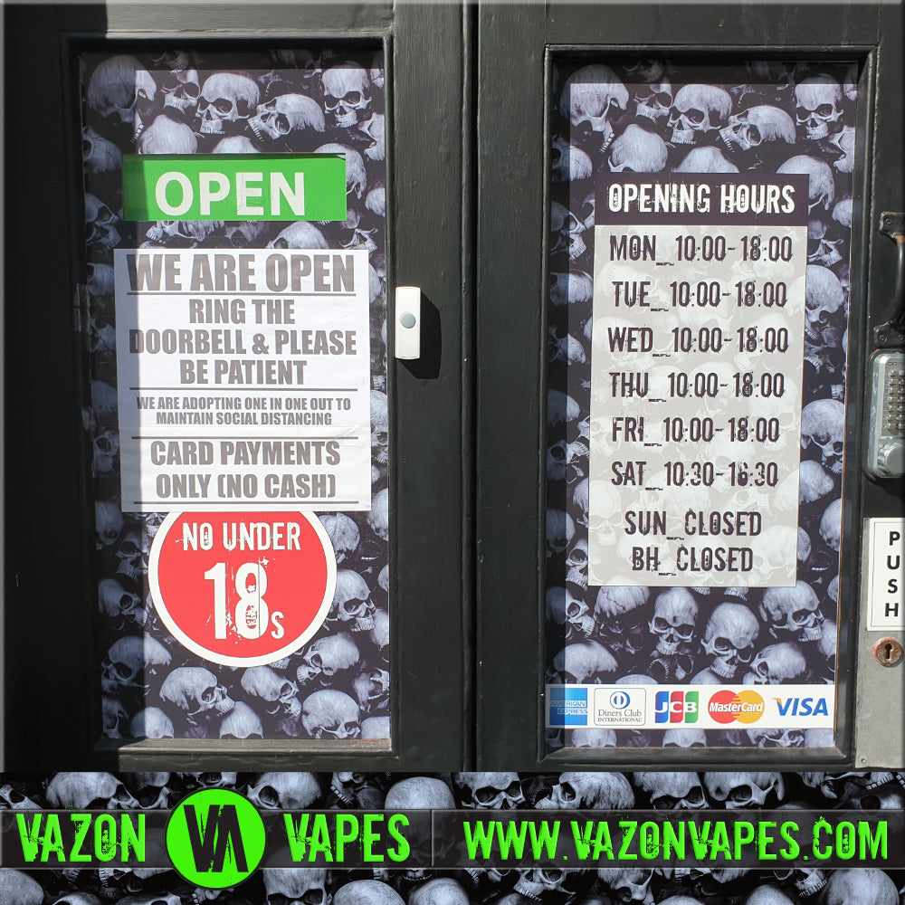 VAZON VAPES COVID-19 UPDATE