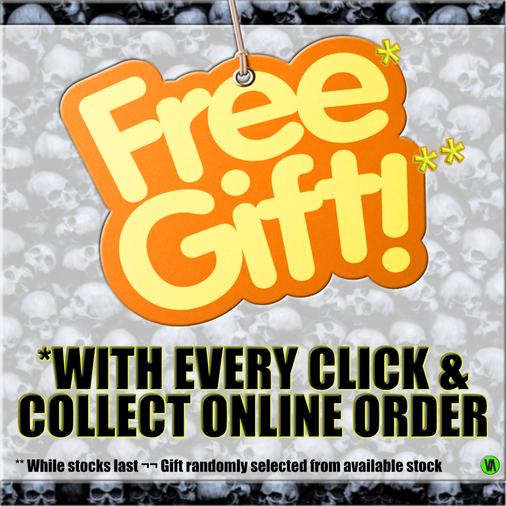 FREE GIFT WITH EVERY CLICK & COLLECT ONLINE ORDER