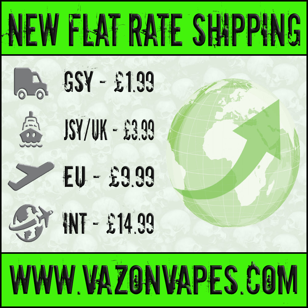 NEW FLAT RATE SHIPPING
