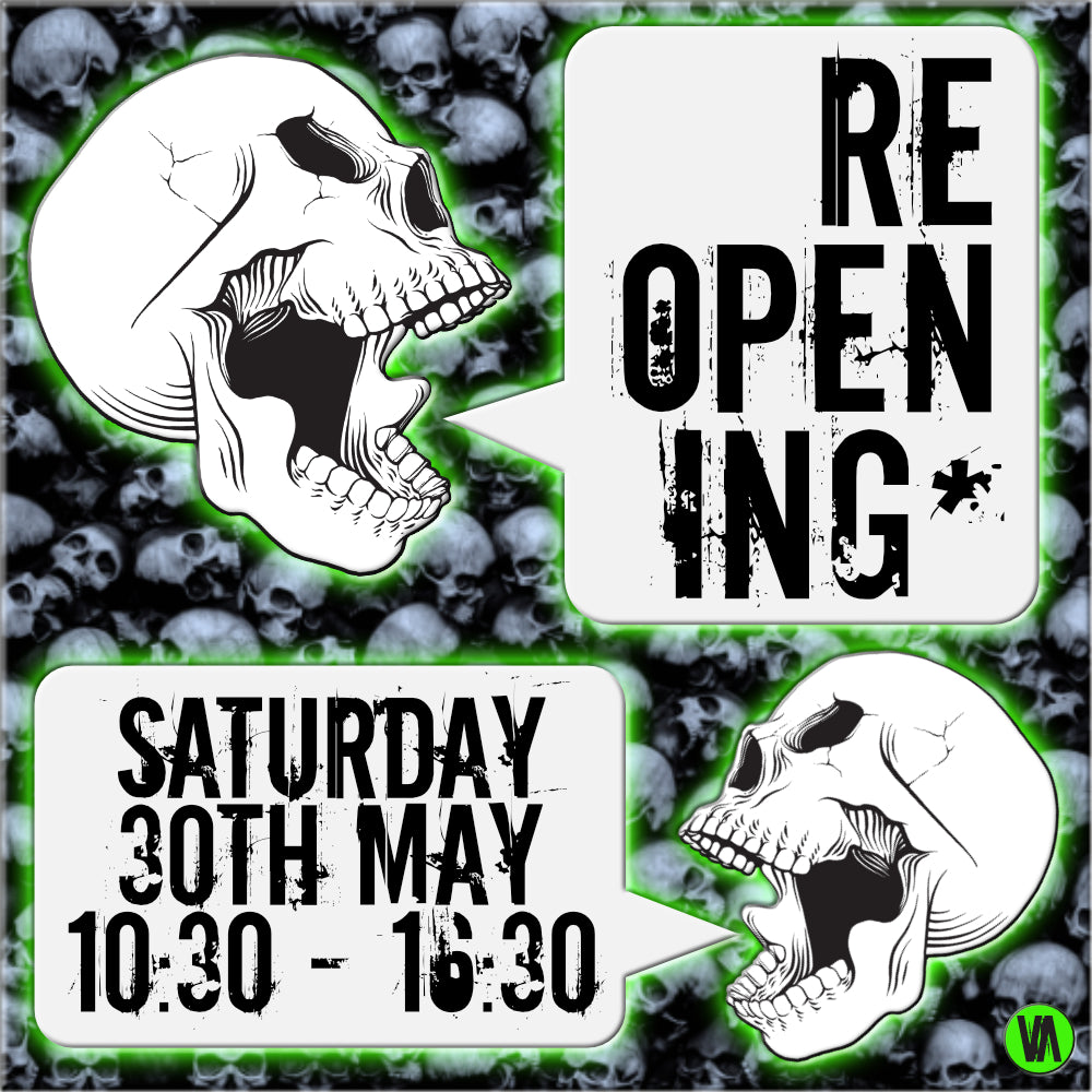RE-OPENING SATURDAY 30.05.20