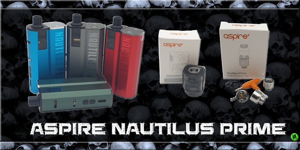 NEW ASPIRE NAUTILUS PRIME KIT