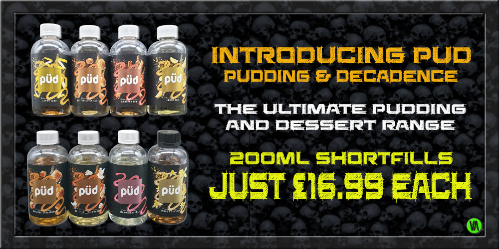 PUD - PUDDING & DECADENCE ELIQUID