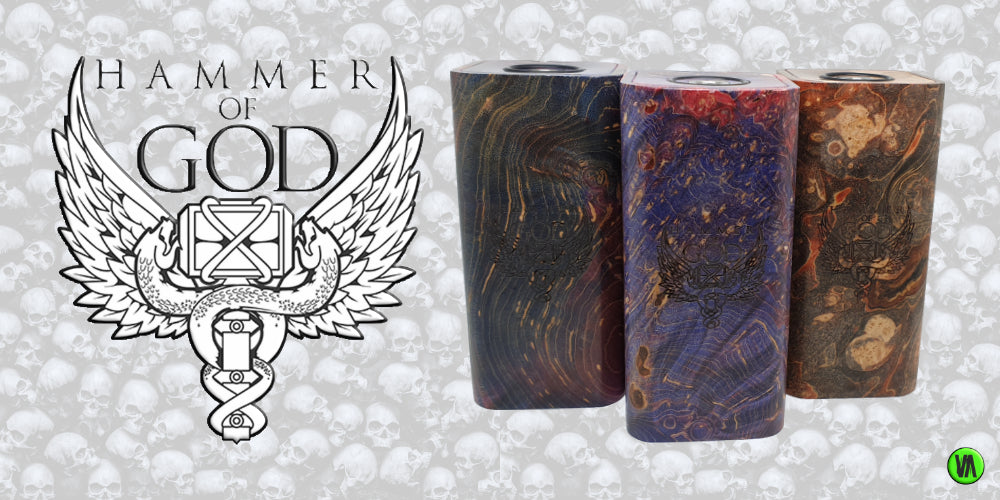HAMMER OF GOD STABWOOD BY VAPERZ CLOUD
