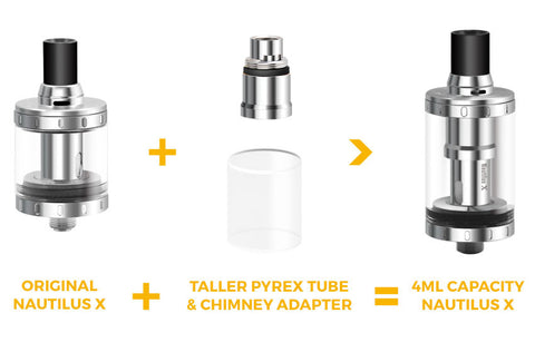 Aspire Nautilus X 4ml Adaptor Kit