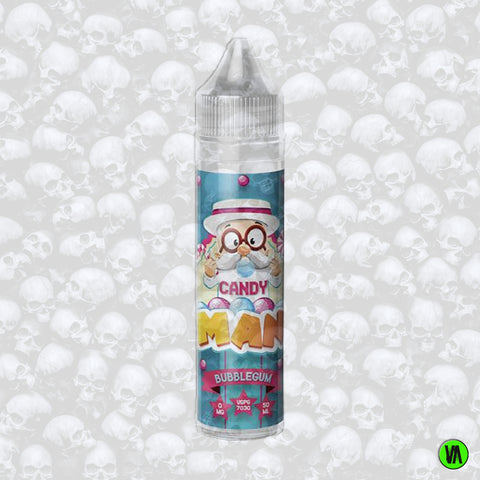 Candy Man Bubblegum 0mg 50ml Shortfill