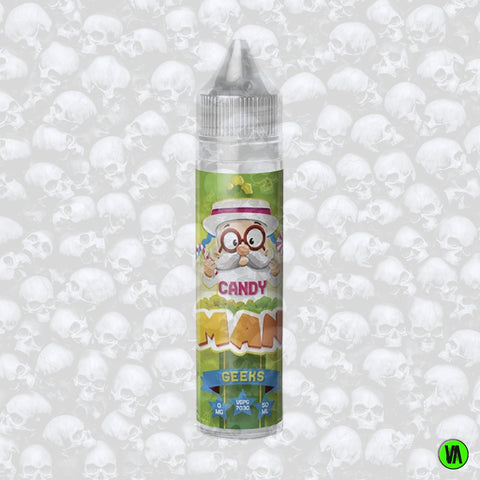 Candy Man Geeks 0mg 50ml Shortfill