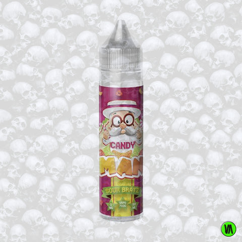 Candy Man Sour Bratz 0mg 50ml Shortfill