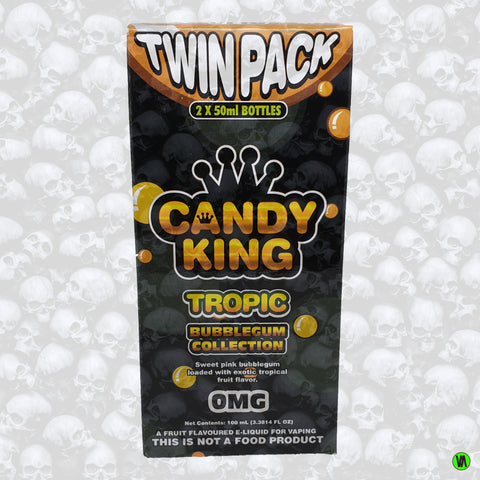 Candy King Bubblegum Collection Tropic Twin Pack