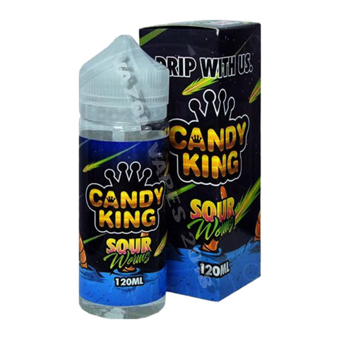 Candy King Sour Worms Shortfill