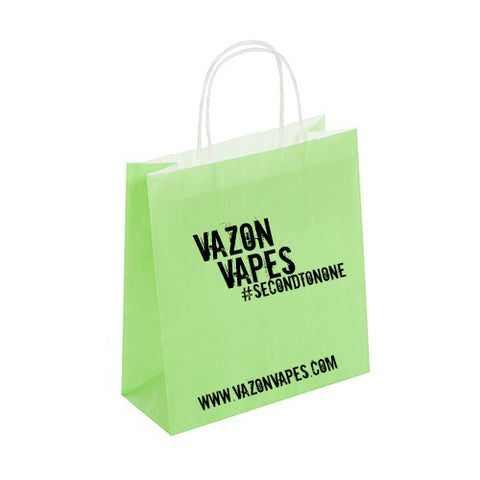 Vazon Vapes Paper Bag