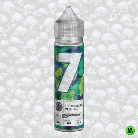 The Good Life Vape Co. No 7 Kiwi & Watermelon Medley