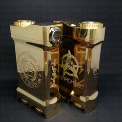 The Collab Box Mod by Plan B Supply Co x Anarchist - Brass
